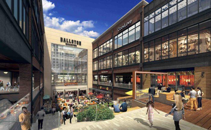 Shopping - Placemaking in Ballston Virginia