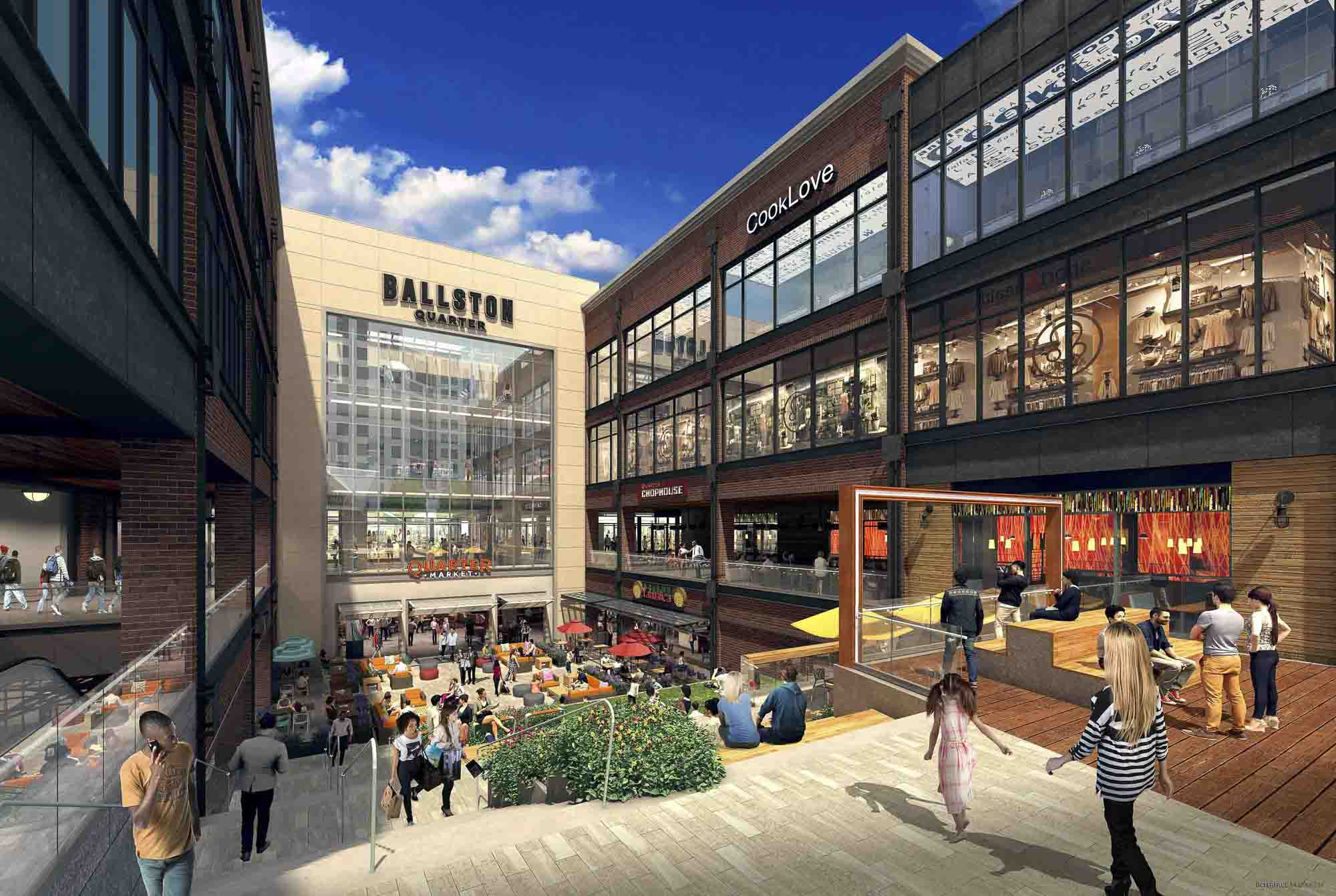 Shopping - Placemaking in Ballston Virginia