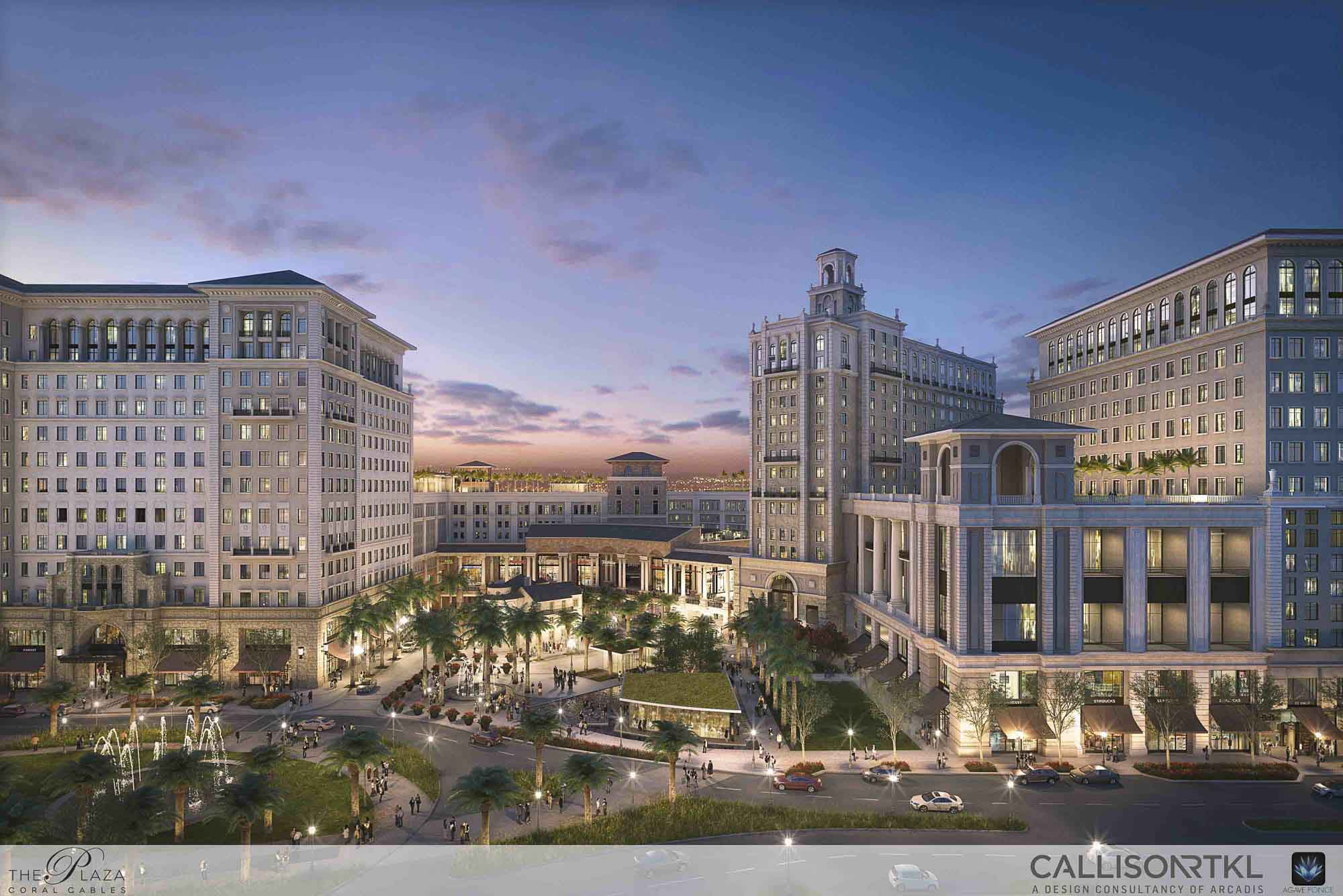 The Plaza at Coral Gables, Retail Mixed Use; destination