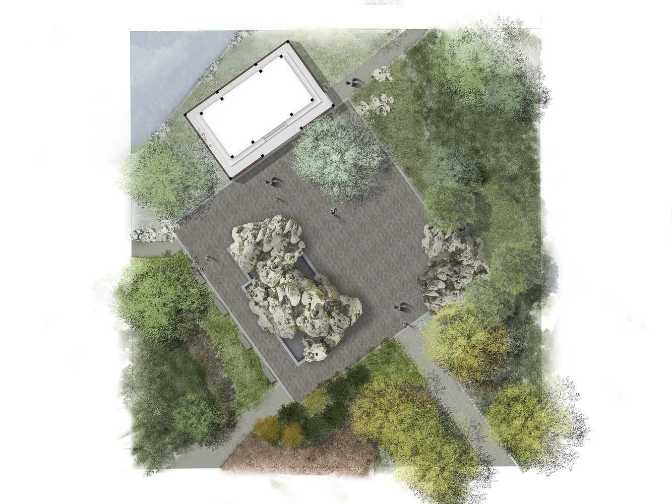 Sarah P  Duke Gardens Chinese Garden - Mahan Rykiel Associates