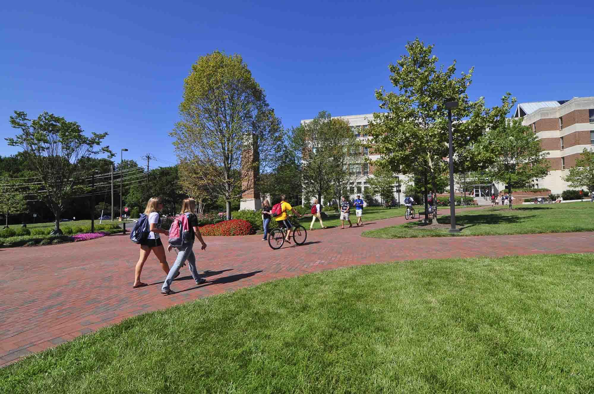 College Park, People Walking