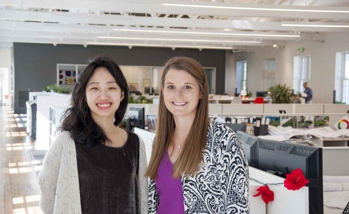 Jiali Li and Rachel Katzman