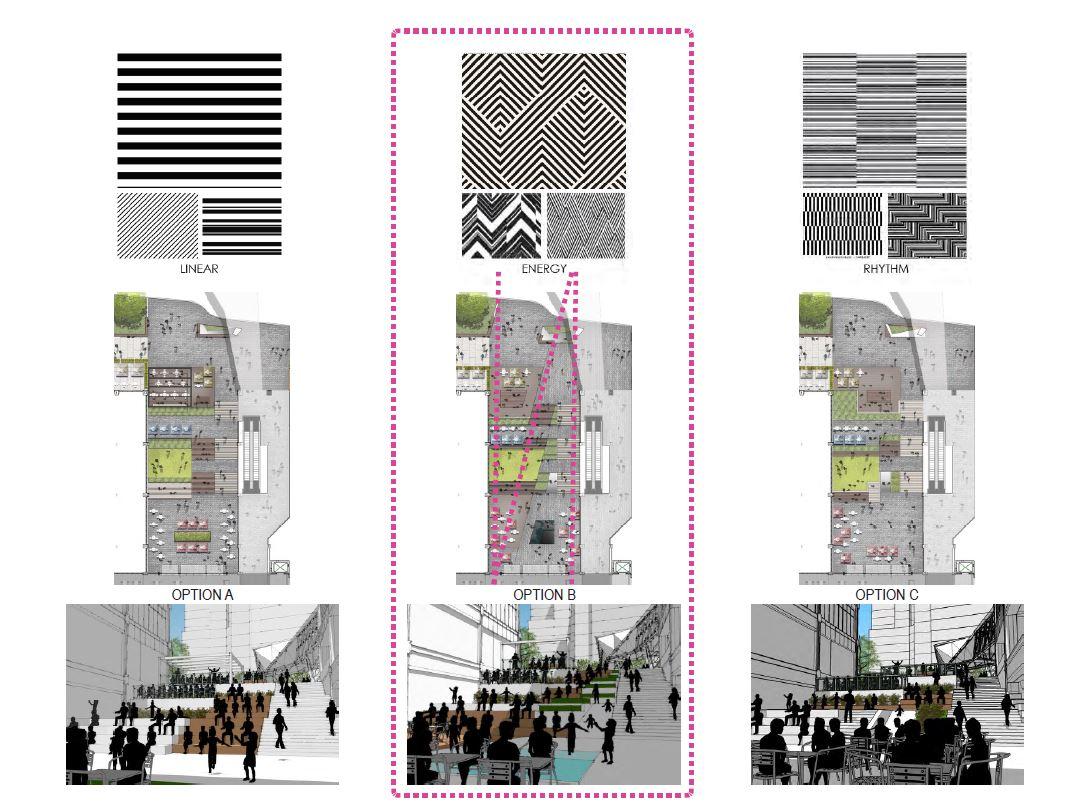Ballston Quarter Plaza Design Concepts