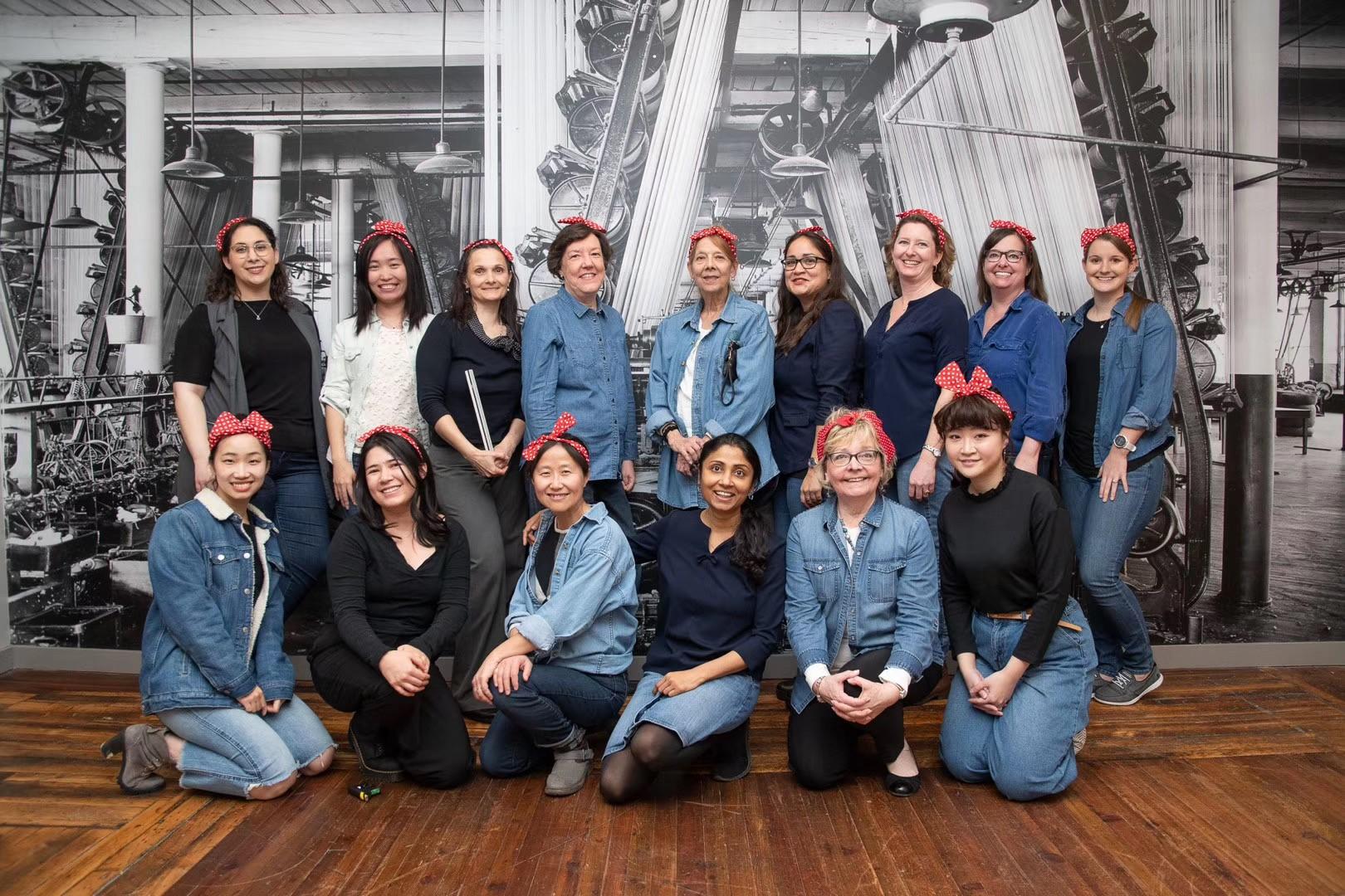 Women of Mahan Rykiel