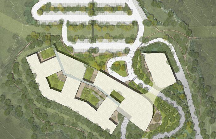 Sheppard Pratt Hospital Site Plan